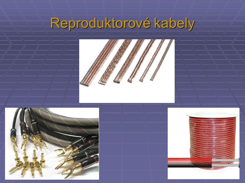 Reproduktorové kabely