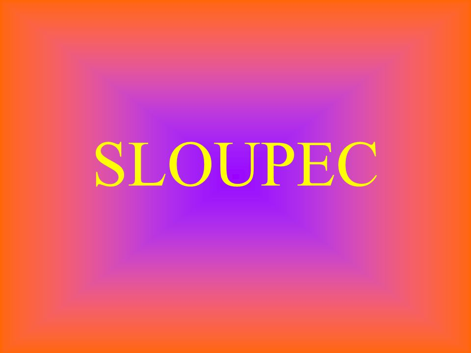 SLOUPEC