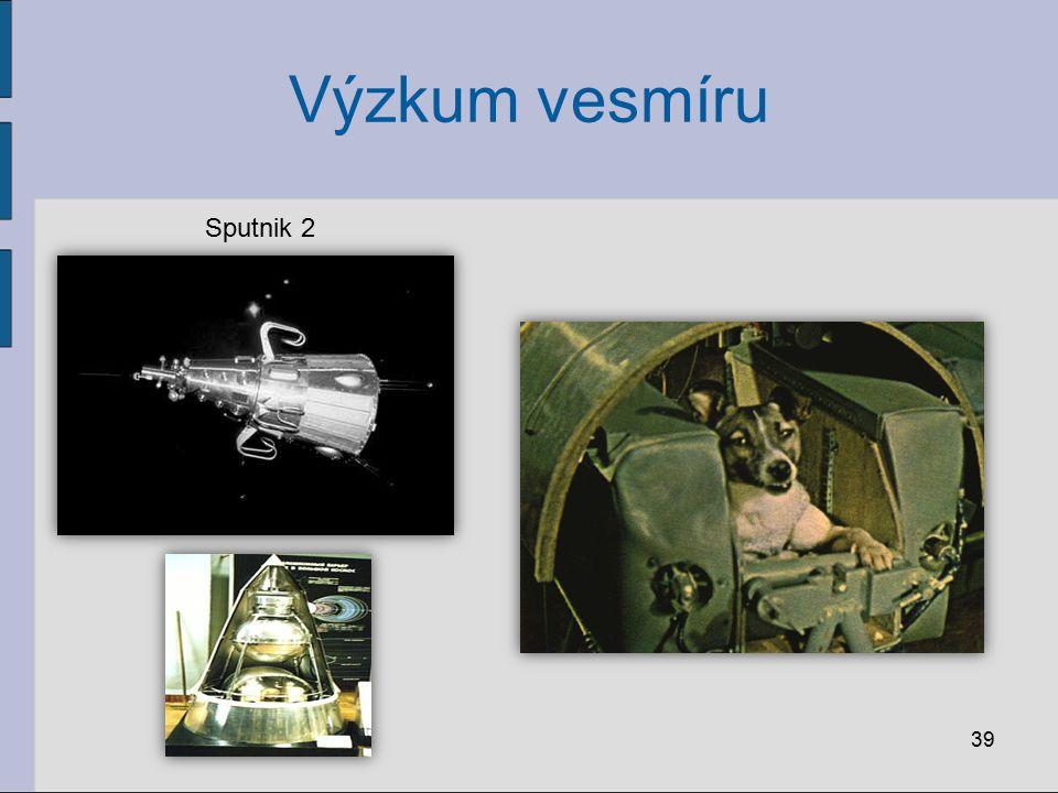 Výzkum vesmíru 39 Sputnik 2