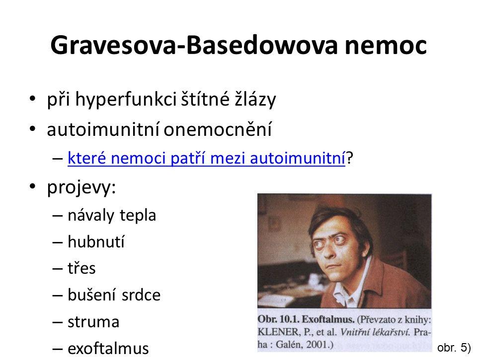Gravesova-Basedowova nemoc při hyperfunkci štítné žlázy autoimunitní onemocnění – které nemoci patří mezi autoimunitní? které nemoci patří mezi autoim