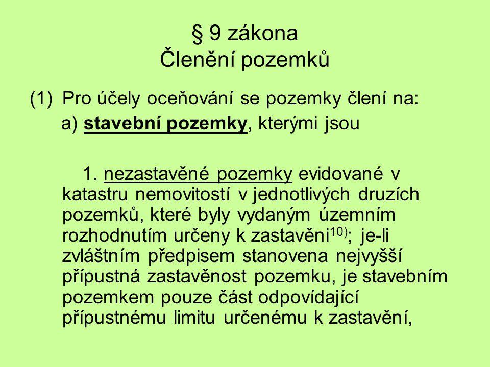 ÚZEMNÍ ROZHODNUTÍ Zákon č.