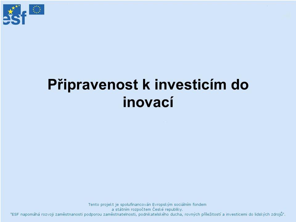 Připravenost k investicím do inovací