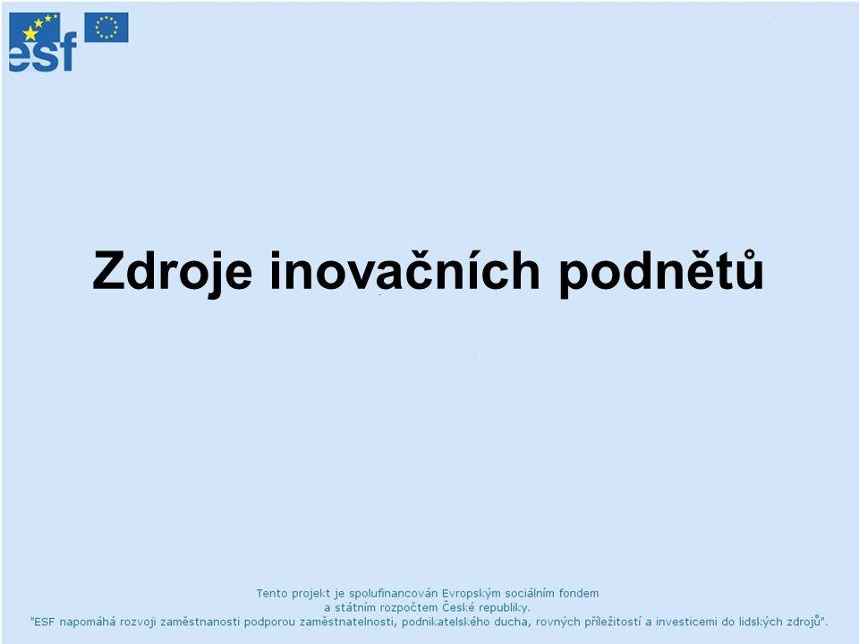 19.1.2007BCI - Inovační podněty4 Funkce inovačního podnětu Inovační proces: rozvinutí výchozího inovačního podnětu, který se v dalších fázích procesu musí transformovat do konkurenčních výhod nového produktu - jeho vysoké kvality, přijatelné ceny a dobrého načasování jeho vstupu na trh.