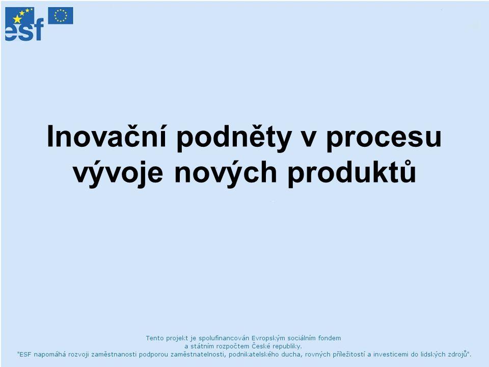 Inovační podněty v procesu vývoje nových produktů