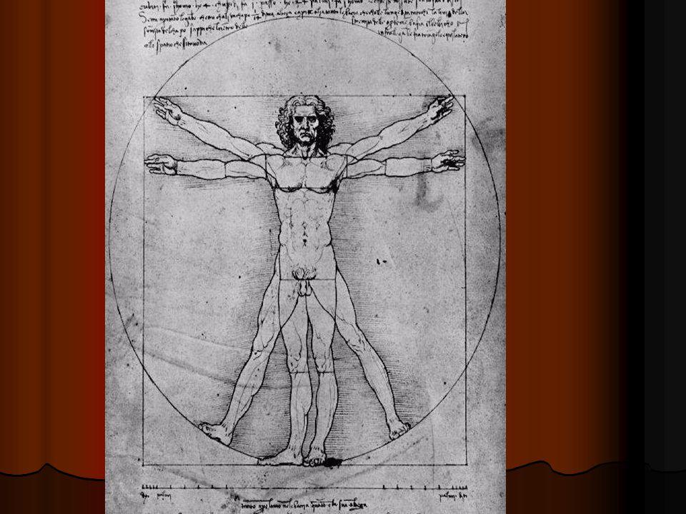 Římský architekt Vitrivius: Rozpětí paží je rovno výšce muže Rozpětí paží je rovno výšce muže 4 prsty tvoří šířku dlaně 4 prsty tvoří šířku dlaně 4 dlaně jsou jedna stopa 4 dlaně jsou jedna stopa 6 dlaní je jeden loket 6 dlaní je jeden loket 4 lokte tvoří celou výšku muže 4 lokte tvoří celou výšku muže 4 lokte tvoří krok – myšleno dva kroky 4 lokte tvoří krok – myšleno dva kroky 24 dlaní je rovno výšce muže 24 dlaní je rovno výšce muže
