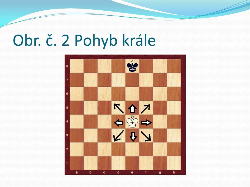 Řeč šachových figur Popsat pohyb figur na šachovnici umožňuje speciální notace - vlastní řeč šachových figur Tato řeč je jednoduchá a lze si ji osvojit bez jakýchkoli jazykových znalostí Znalost této řeči je však pro četbu šachové literatury nezbytná Obrázek 1 Vertikály jsou označeny písmeny ( a,b, c, d, e, f, g, h) Horizontály číslicemi od 1 do 8 Vychází se z levého rohu bílého tábora Každé z 64 políček šachovnice má své jméno - to je dáno písmenem a číslicí Když se figury pohybují z políčka na políčko, písemně se to zaznamenává