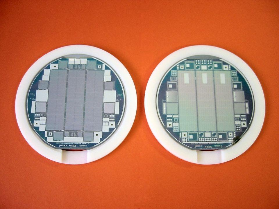 16 I-V: ozářené Single Chipy