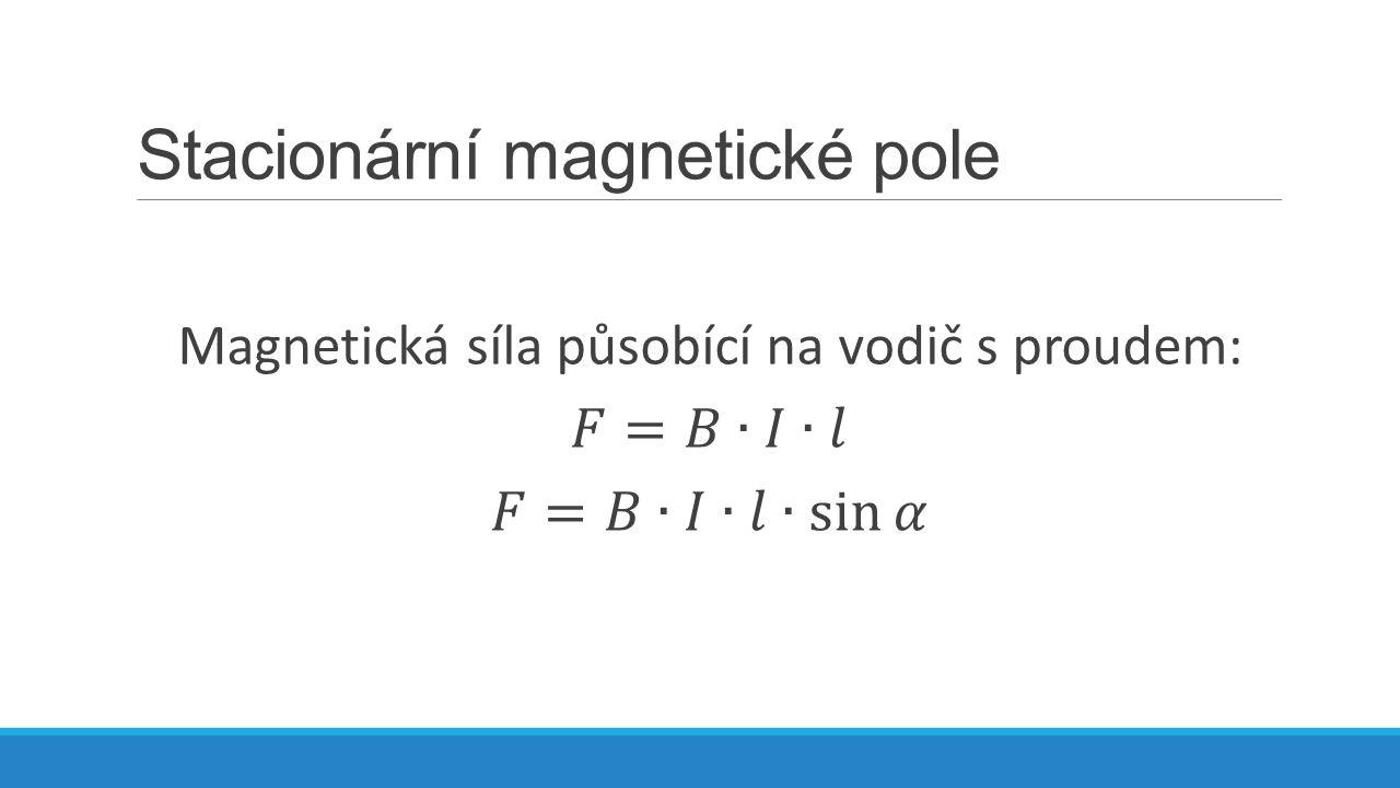 Flemingovo pravidlo levé ruky: Položíme-li otevřenou levou ruku k přímému vodiči tak, aby prsty ukazovaly dohodnutý směr proudu a indukční čáry magnetu vstupovaly do dlaně, ukazuje odtažený palec směr síly, kterou působí magnetické pole na vodič s proudem.