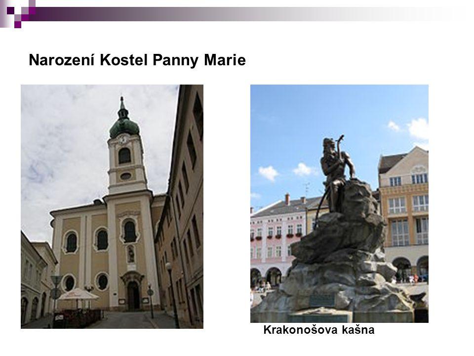 Narození Kostel Panny Marie Krakonošova kašna