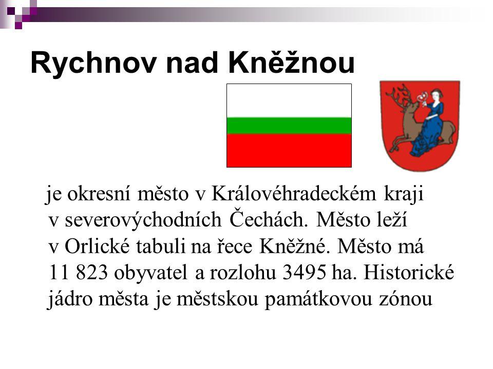Rychnov nad Kněžnou je okresní město v Královéhradeckém kraji v severovýchodních Čechách.