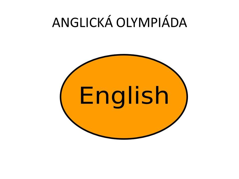 ANGLICKÁ OLYMPIÁDA