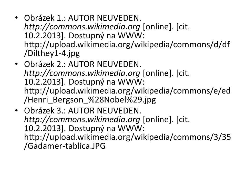 Obrázek 1.: AUTOR NEUVEDEN. http://commons.wikimedia.org [online]. [cit. 10.2.2013]. Dostupný na WWW: http://upload.wikimedia.org/wikipedia/commons/d/