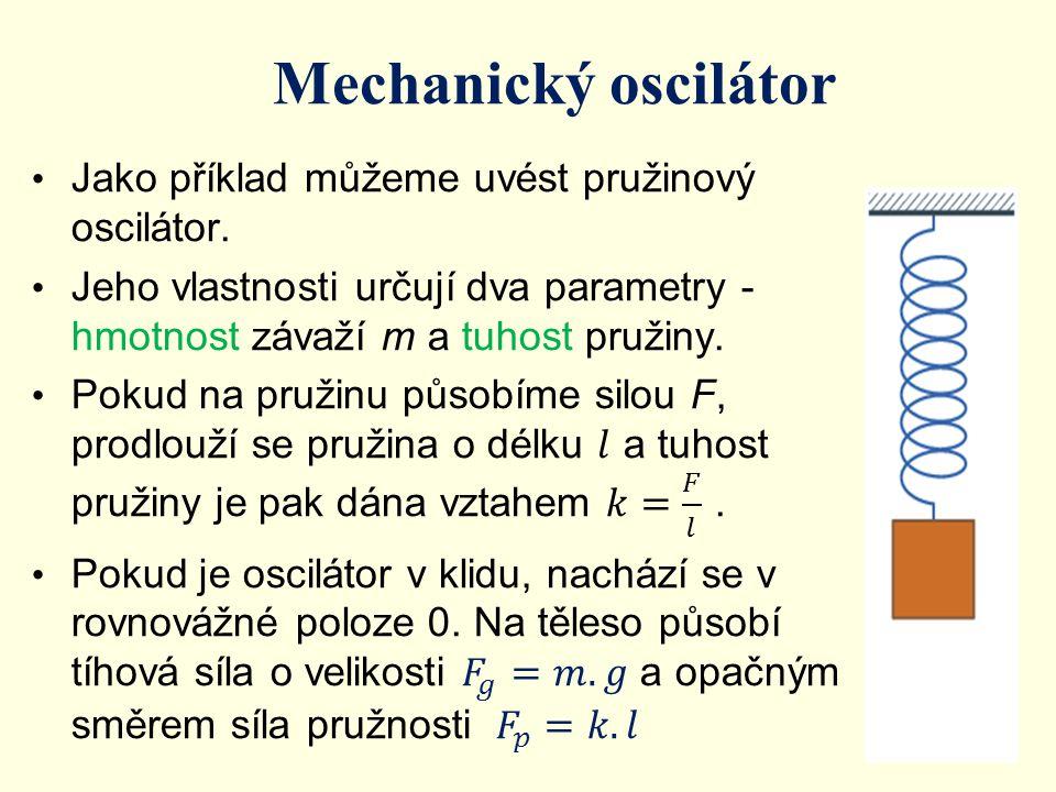 Mechanický oscilátor