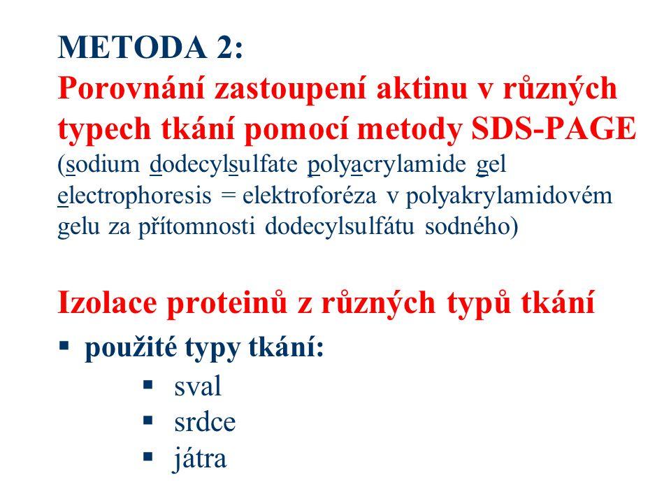 Stanovení z UV spektra  stanovení koncentrace proteinů pomocí absorpce v UV spektru (260 - 280 nm)  závislé na přítomnosti aromatických aminokyselin v proteinech (tyrosin a tryptofan)  [Protein] (mg/mL) = 1.55*A 280 - 0.76*A 260