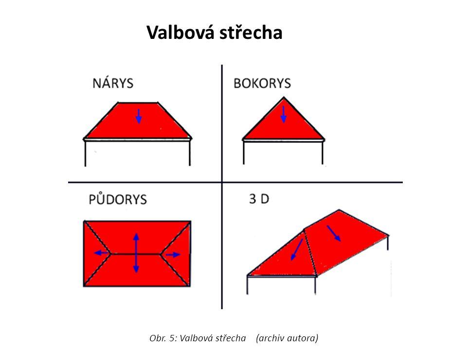 Valbová střecha Obr. 5: Valbová střecha (archiv autora)