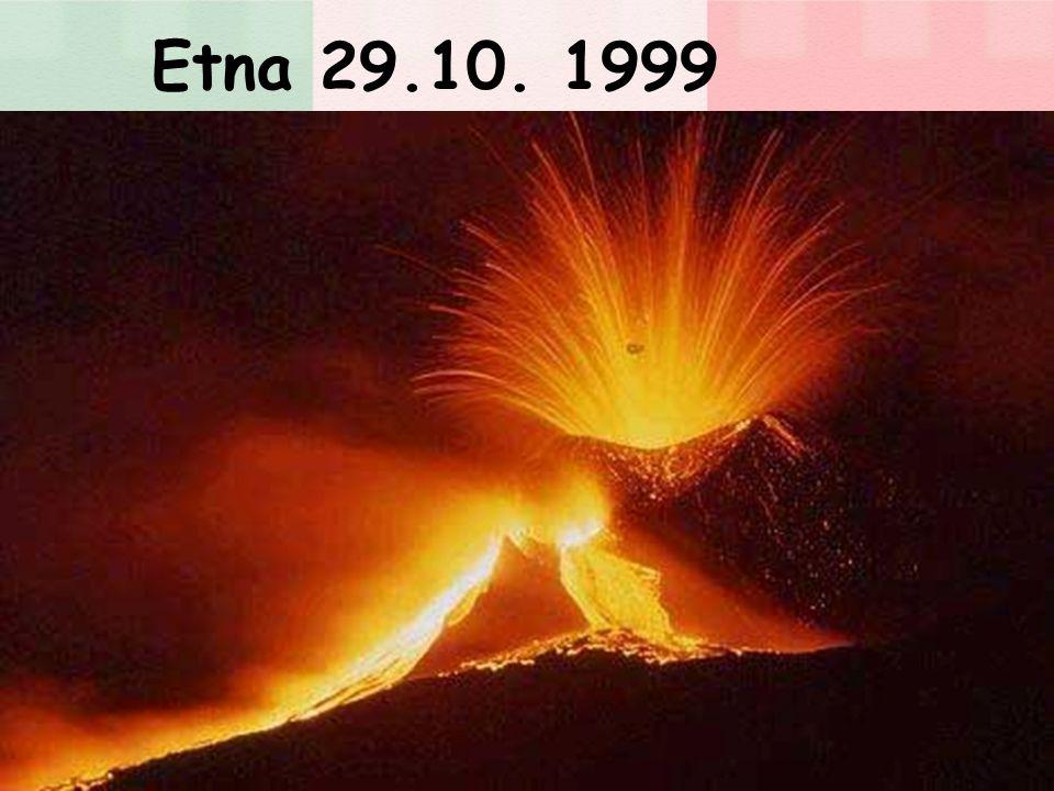 Etna 29.10. 1999