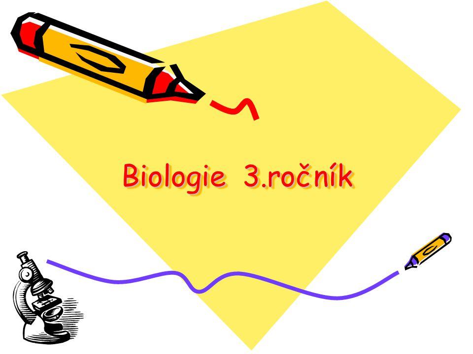 Biologie 3.ročník