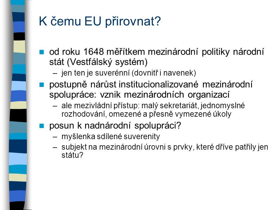 K čemu EU přirovnat.