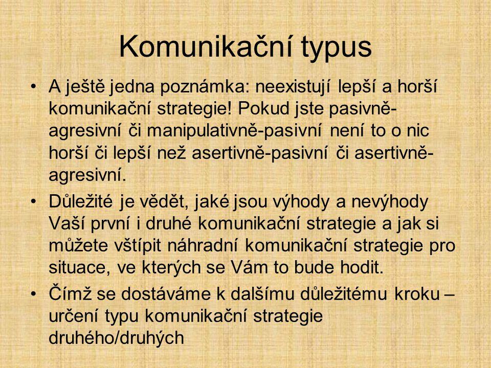 Komunikační typus II.