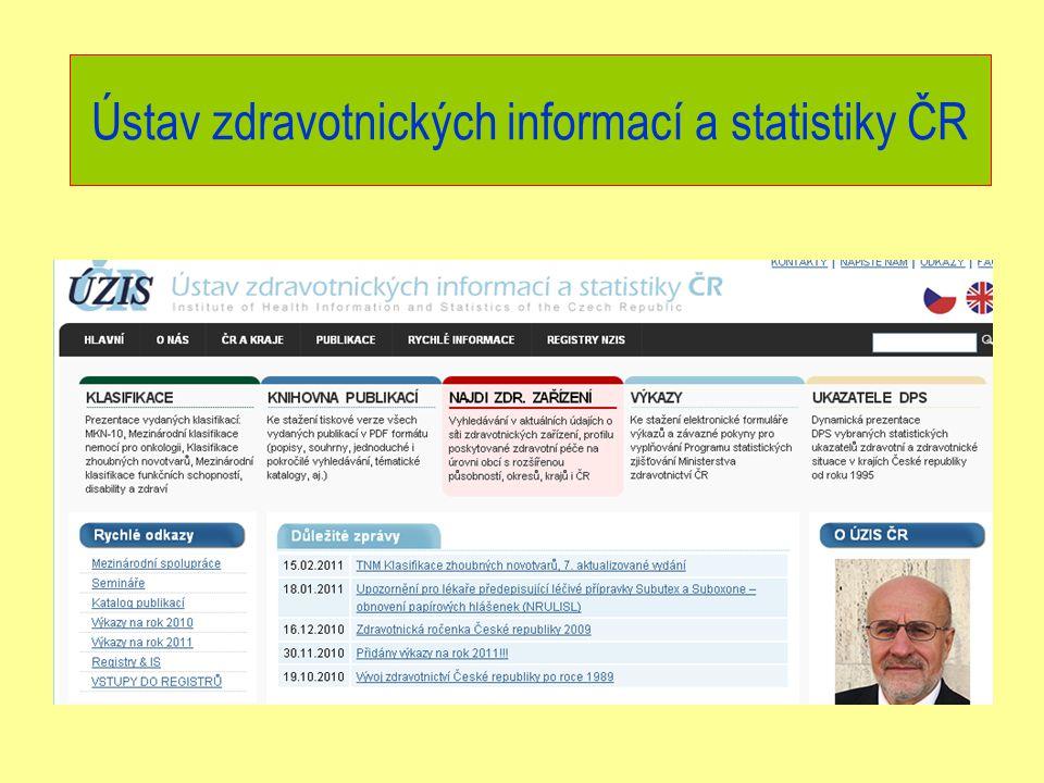 Ústav zdravotnických informací a statistiky ČR