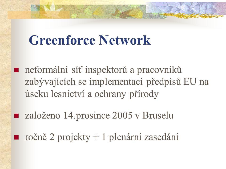 GreenEnforce Meetings 3 Činnost v roce 2009  březen – Praha - 20.3.