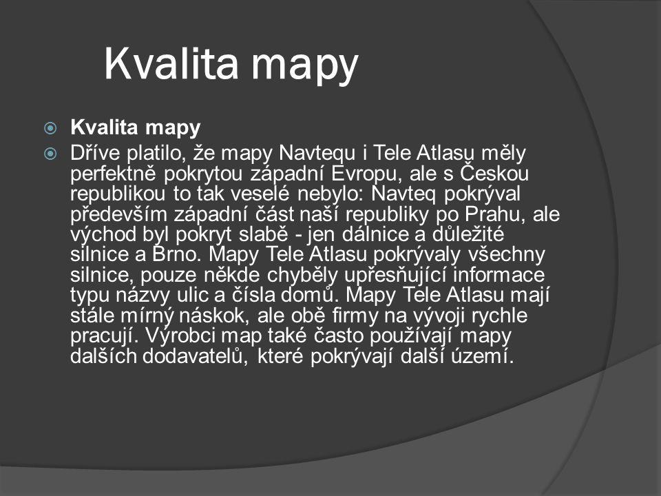 Software  IGO Nejnovější verze IGO8  TomTom Nejnovější verze TomTom7  Atlas Czech 7  City Navigator