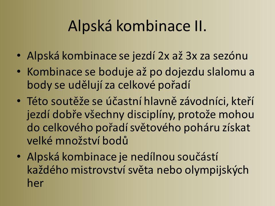 Alpská kombinace II.