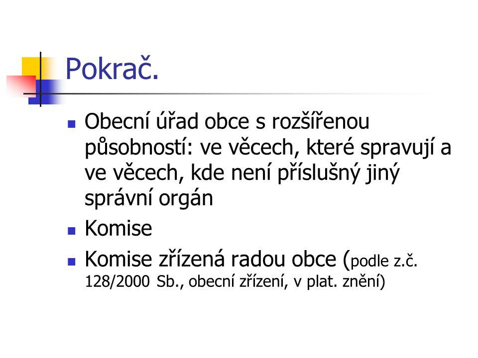 Speciální úprava Hl.město Praha: městské části podle svěřené působnosti a podle Statutu hl.