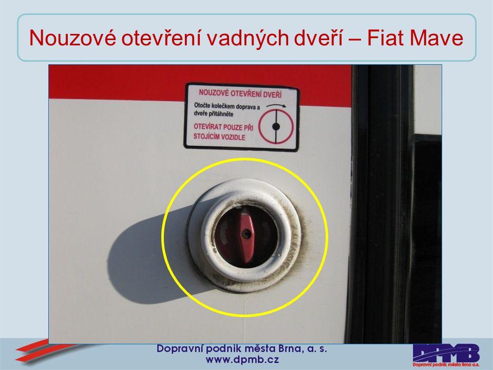 Nouzové otevření vadných dveří – Fiat Mave
