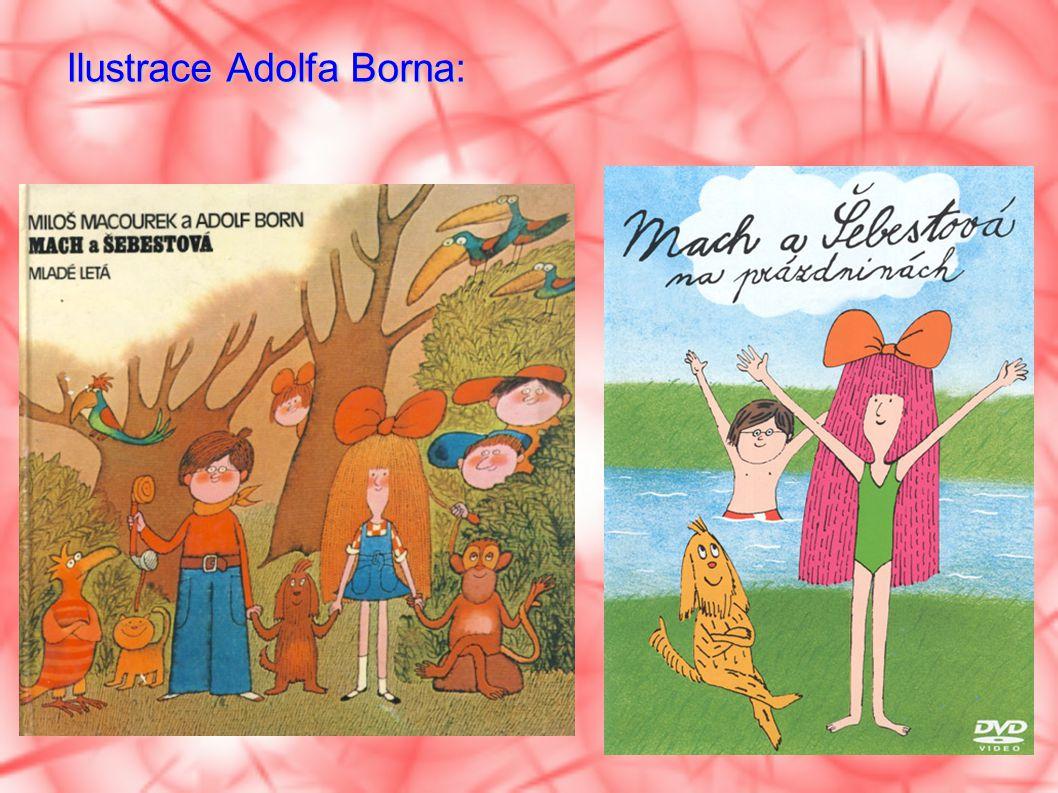 Ilustrace Adolfa Borna: