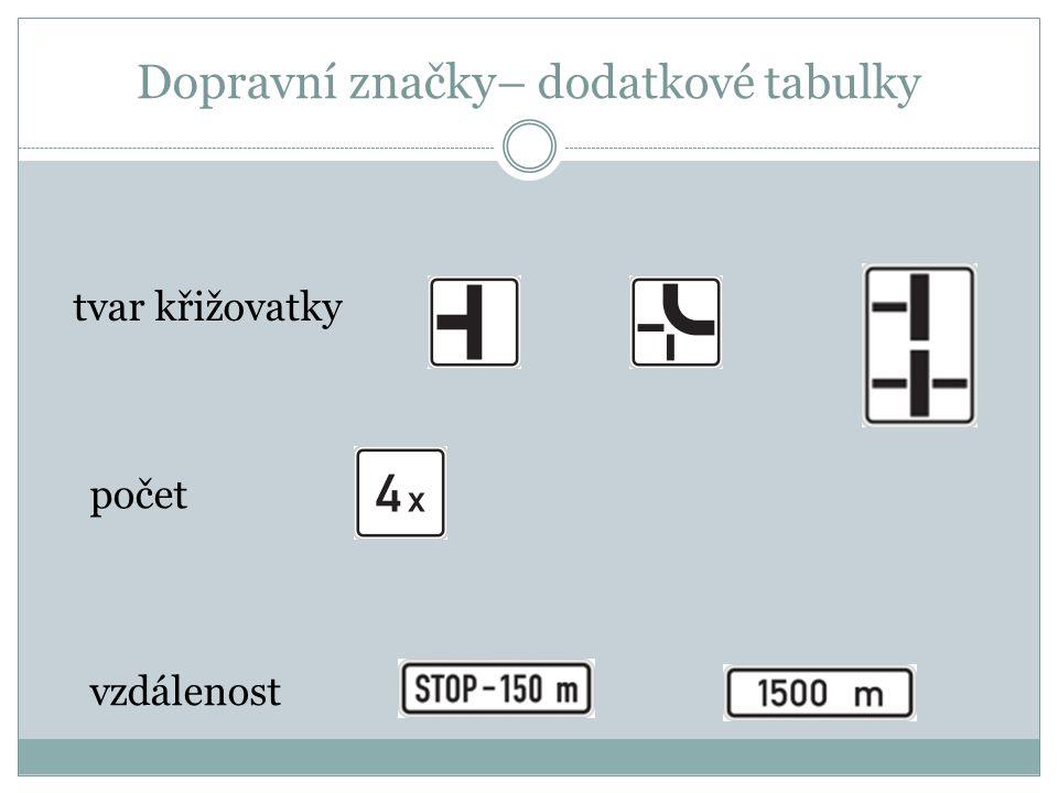 Dopravní značky – informativní směrové směrová tabule pro příjezd k dálnici směrová tabule návěst před křižovatkou obec konec obce