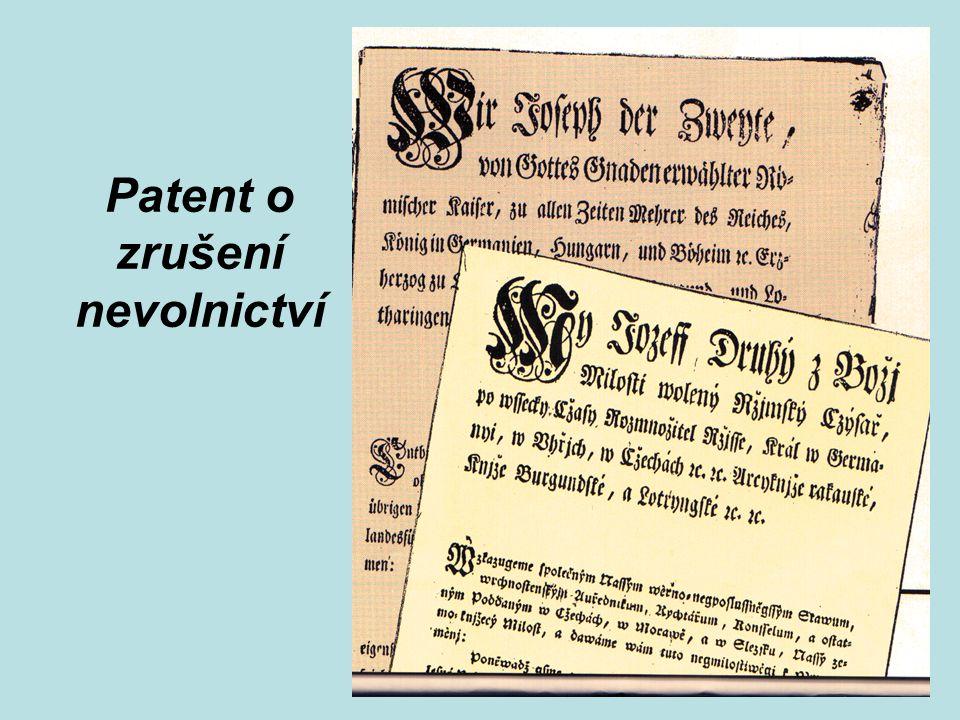 Patent o zrušení nevolnictví