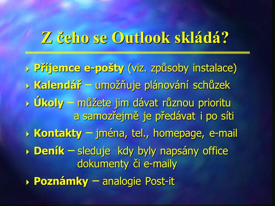 Druhy instalací aneb s jakým Outlookem se můžete setkat