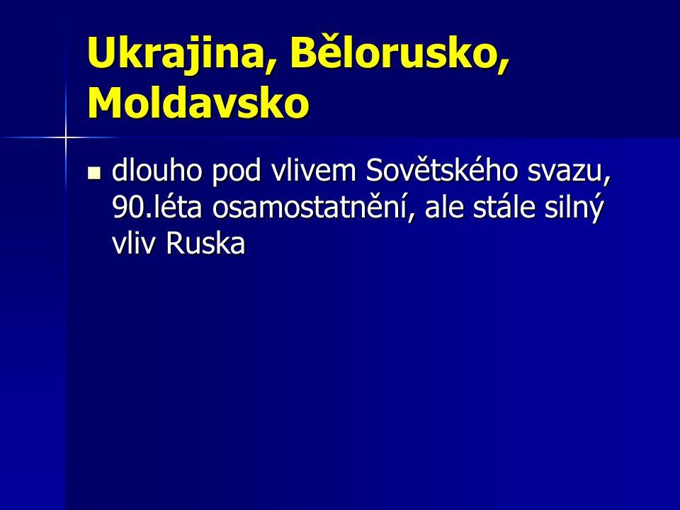 Ukrajina 2.největší stát Evropy 2. největší stát Evropy (600 000 km 2, 50 mil.