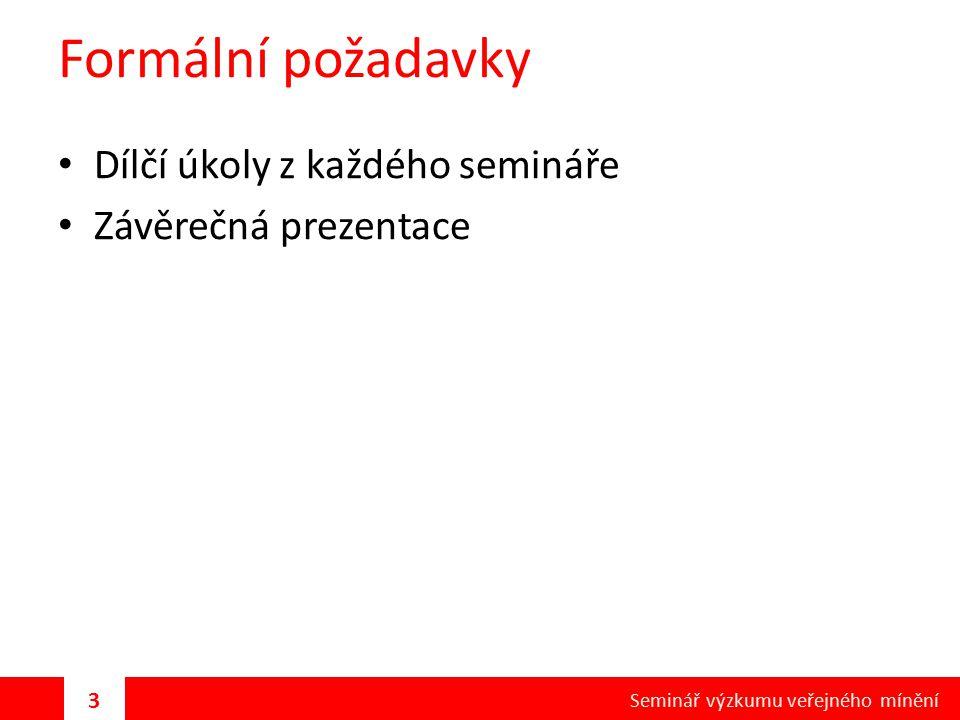 Délka dotazníku Ovlivňuje ji typ výzkumu, způsob sběru dat, rozpočet, téma a cílová skupina V ČR zhruba 20 až 40 minut Maximální délka v našich podmínkách max.