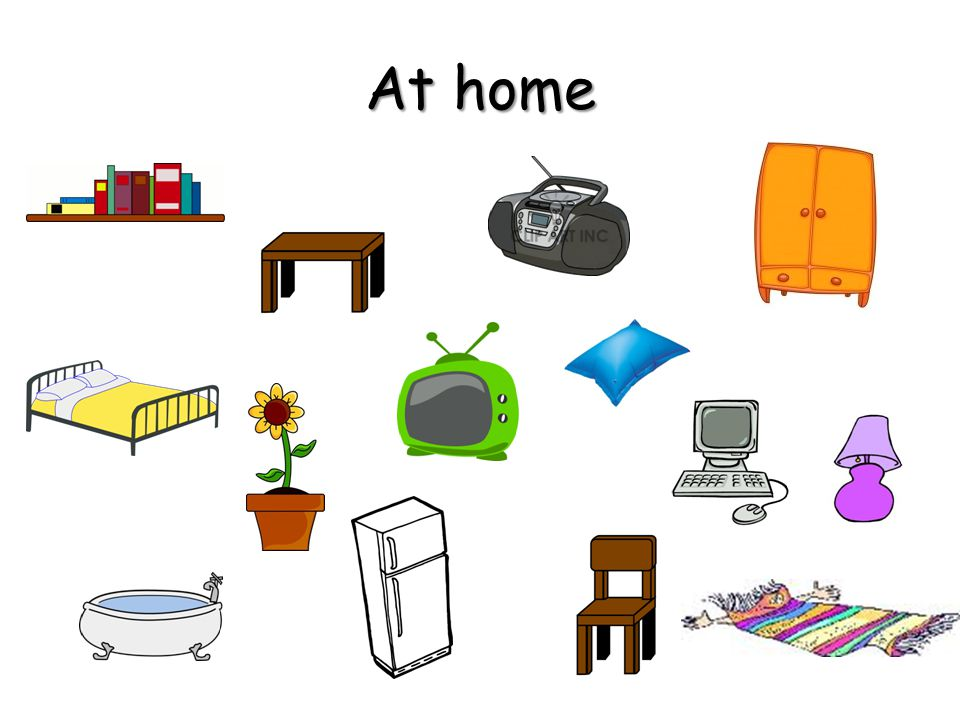 Task 3: Task 3: Do you remember all objects in the picture? Can you name them? At home