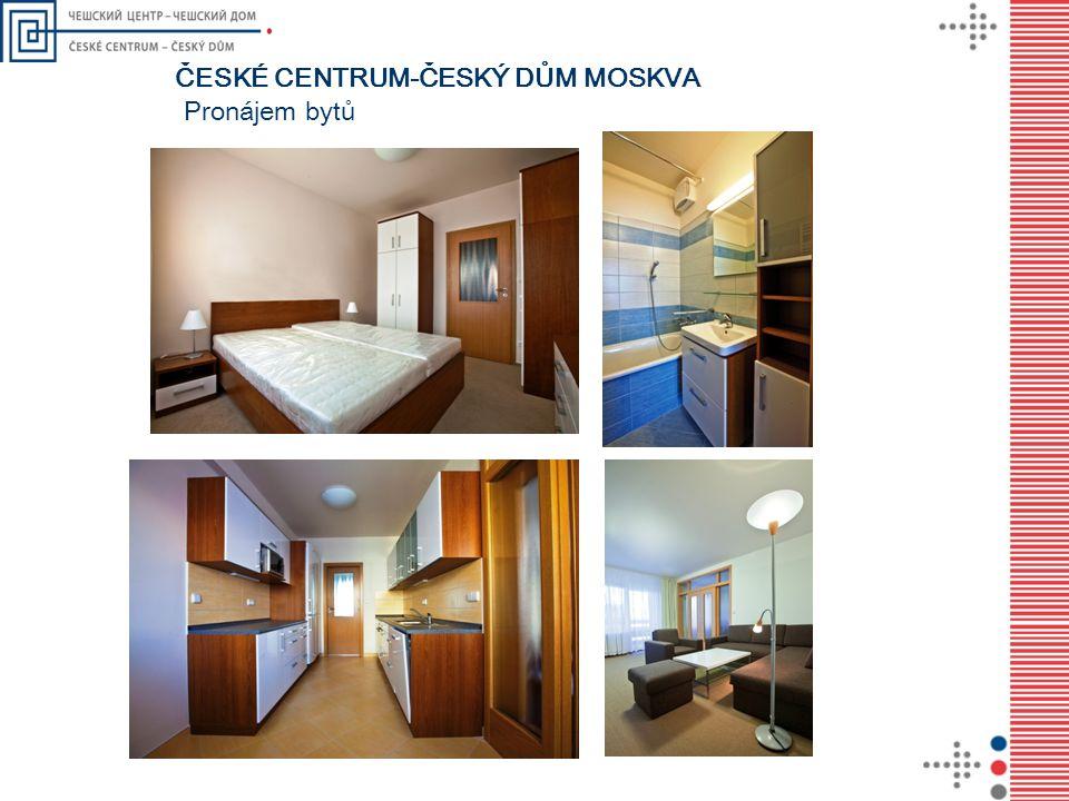 Pronájem bytů ČESKÉ CENTRUM-ČESKÝ DŮM MOSKVA