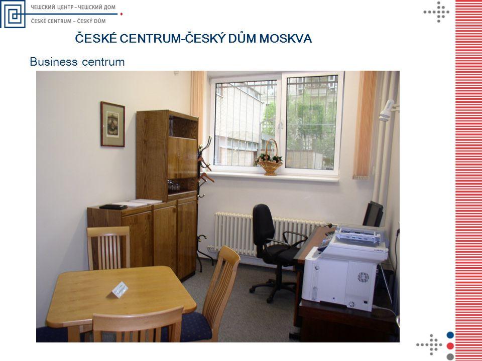 ČESKÉ CENTRUM-ČESKÝ DŮM MOSKVA Business centrum