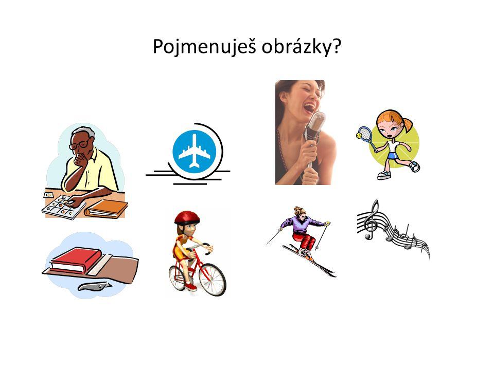 Pojmenuješ obrázky?