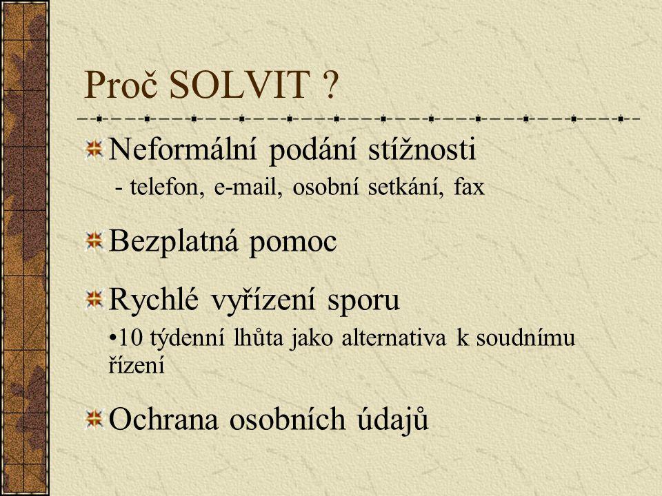 Jak SOLVIT funguje