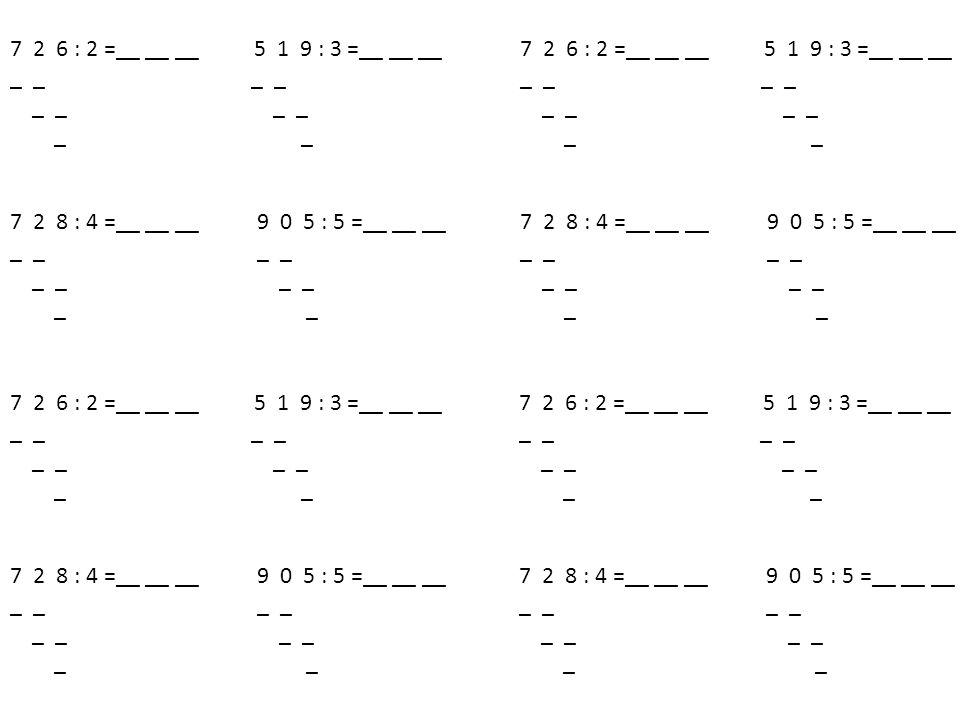 2zb.0 1zb.2 7zb.0 688:4= 6:4= 12 828:4=70 8 8:4=20 x x Písemné d ě lení 481216202428323640 ? ?