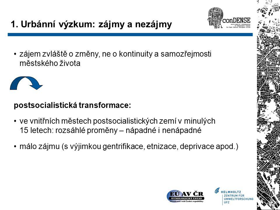 """Proč Brno.málo zájmu sociologů o Brno (výjimky: """"Sociologický výzkum Brna z r."""
