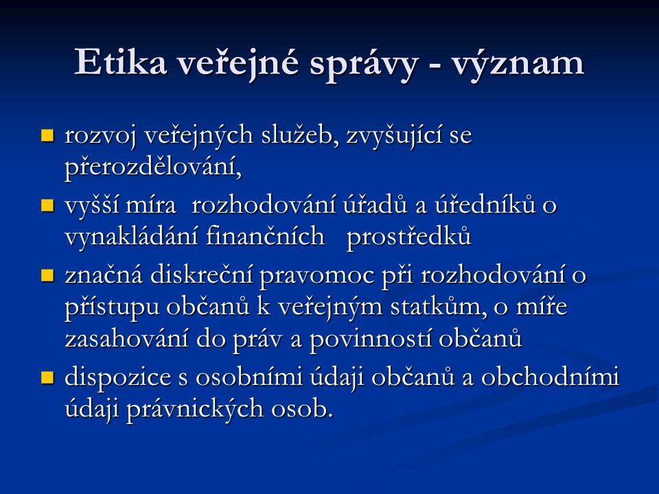 Strategie vlády proti korupci řešení problému korupce v České republice je jednou z hlavních priorit vlády.