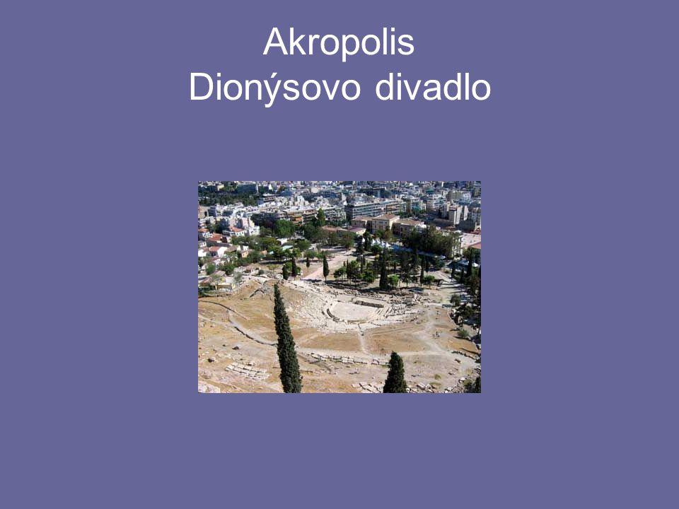 Akropolis Dionýsovo divadlo
