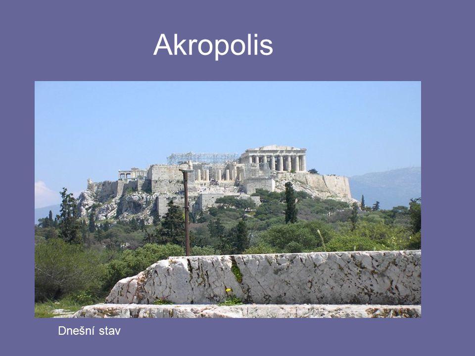 Akropolis Dnešní stav