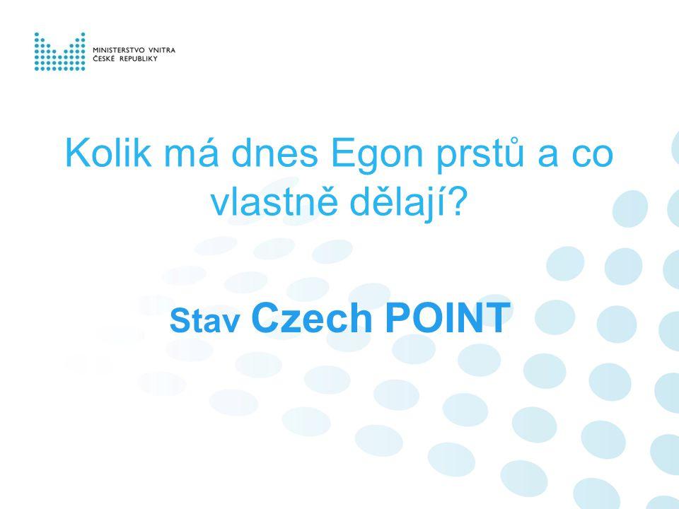 Kolik má dnes Egon prstů a co vlastně dělají Stav Czech POINT