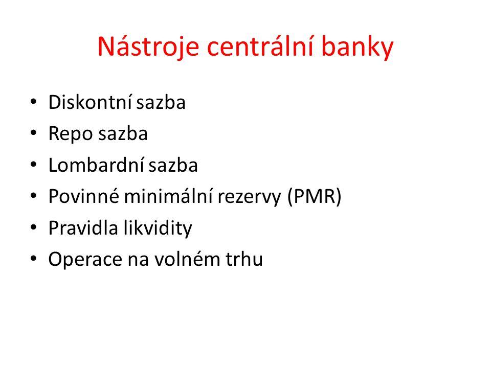 Opakování 1.Jaký je bankovní systém ČR. 2. Jak se nazývá centrální banka ČR.