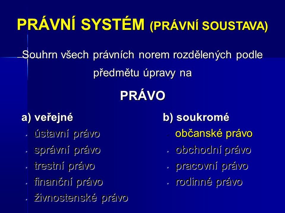 Druhy PO I.Sdružení fyzických nebo právnických osob I.