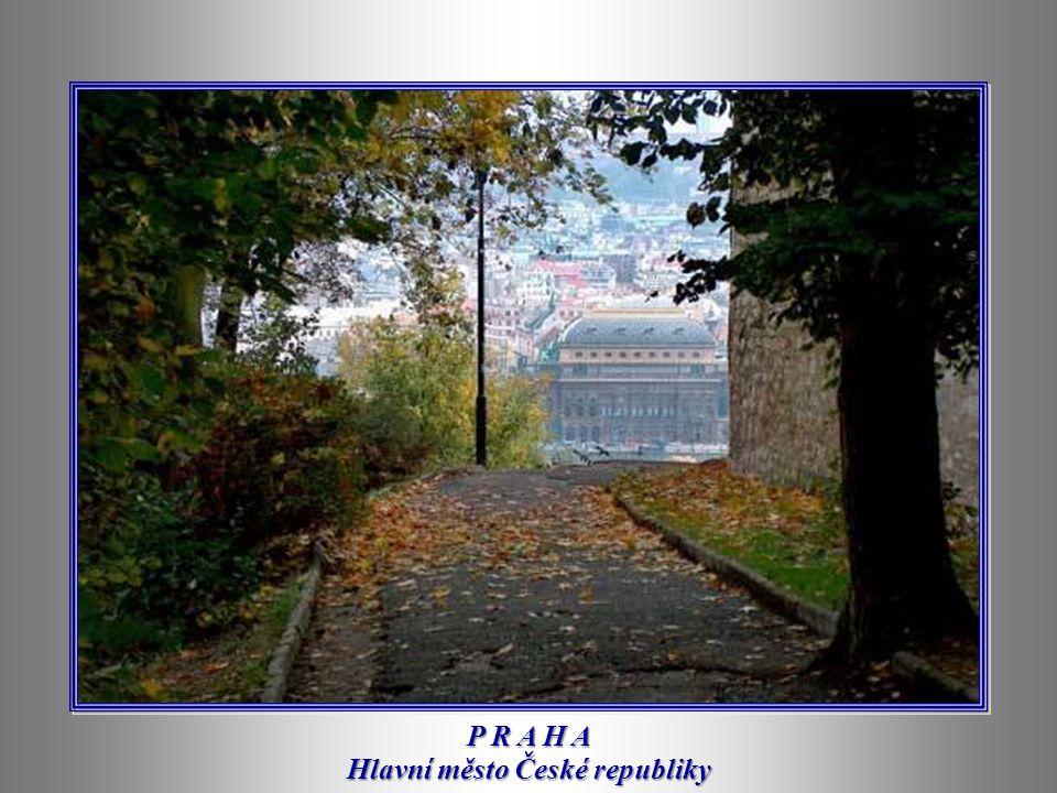 P R A H A Hlavní město České republiky