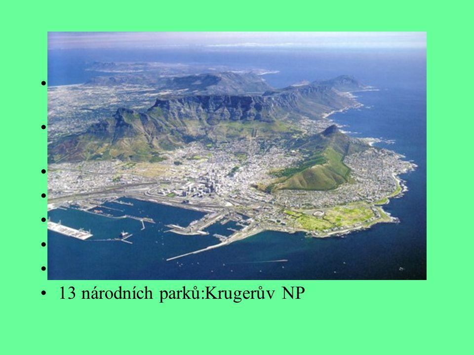 Geografie Rozložení plochy: 10% orná půda, 67% pastviny, 7% lesy, 16% ostatní Hraničí s: Namibií, Botswanou, Zimbabwe, Mosambikem s Swazijskem JAR má